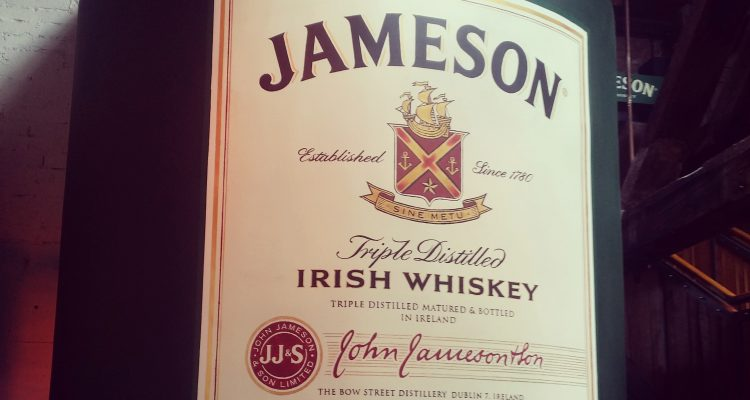 jameson factory dublin whiskey