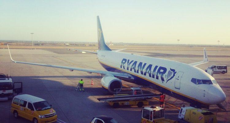 flying Ryanair