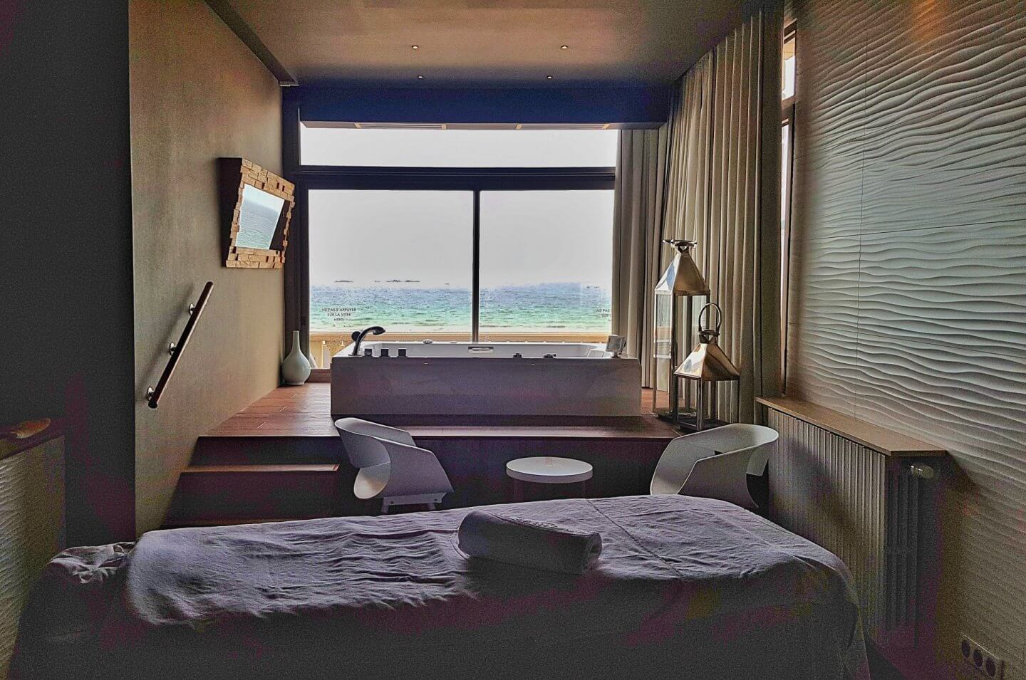 benefits of a spa day spa benefits Saint Malo France Brittany spa treatments