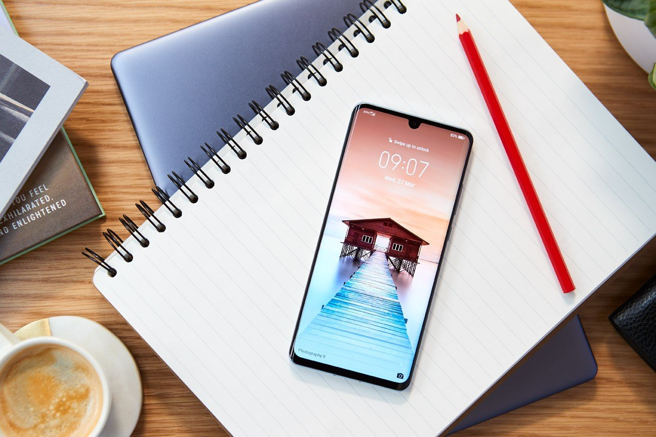 huawei p30 pro review front screen