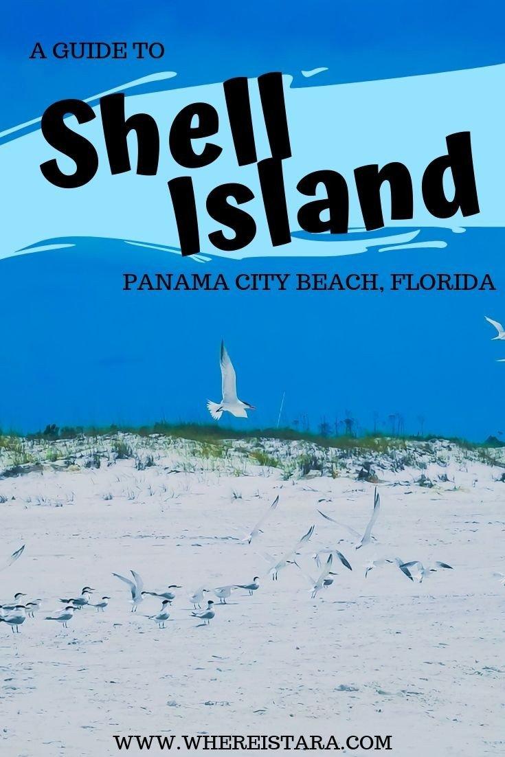 Shell Island Panama City Beach Florida pin