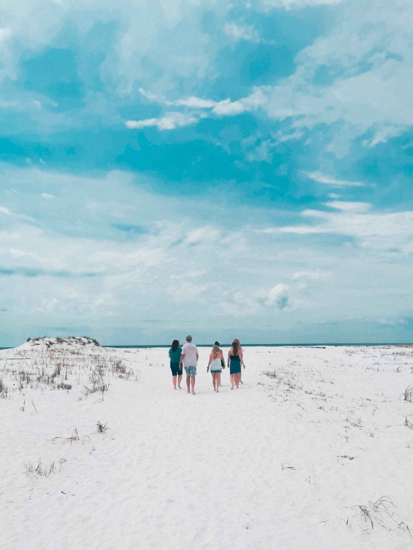 Shell Island Panama City Beach cold sand squeaky sand