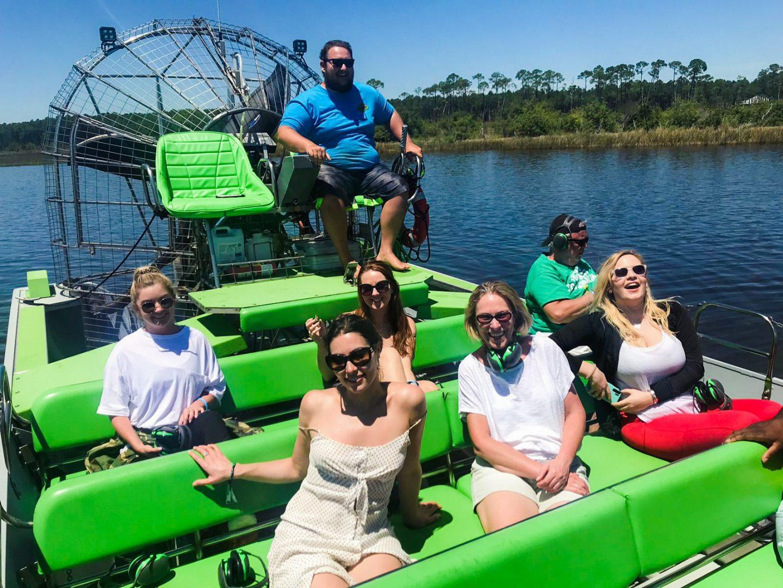 Air boat ride Wild Thang Panama City Beach FL