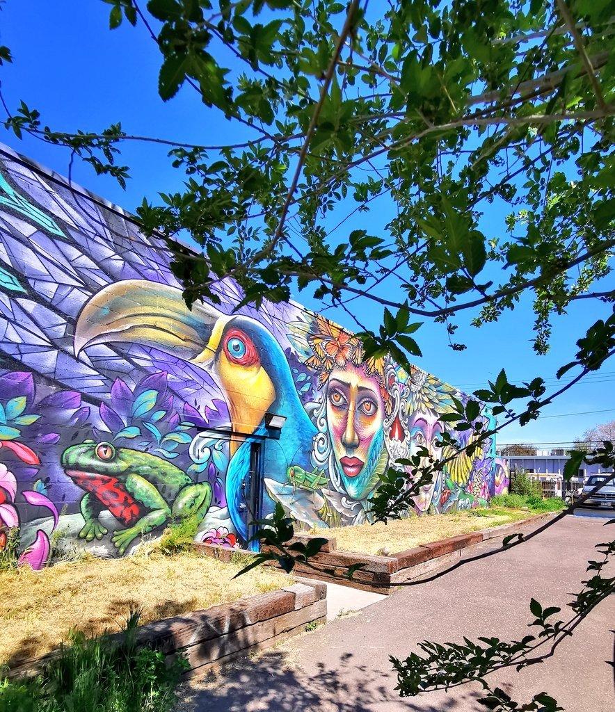 RiNo River North mural street art Denver