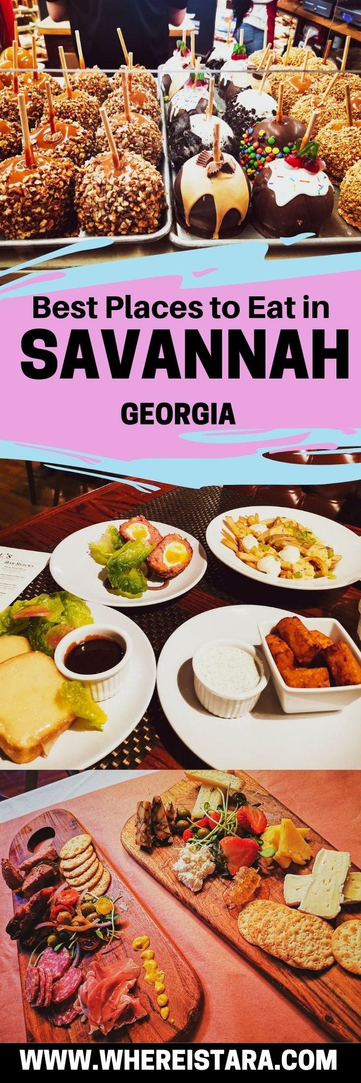 pin savannah georgia restaurant guide
