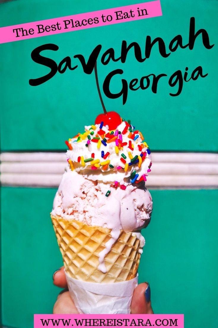 savannah georgia pin best restaurants