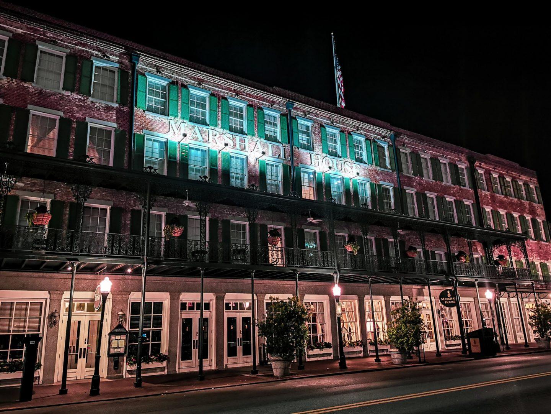 Marshall hotel Savannah haunted