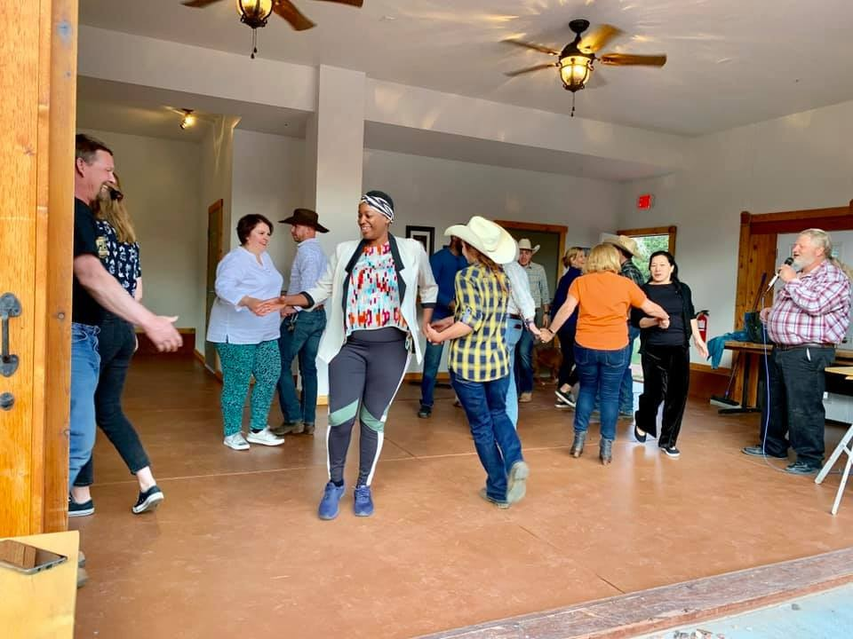sundance trail guest ranch square dancing