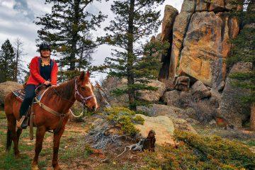 dude ranch in Colorado