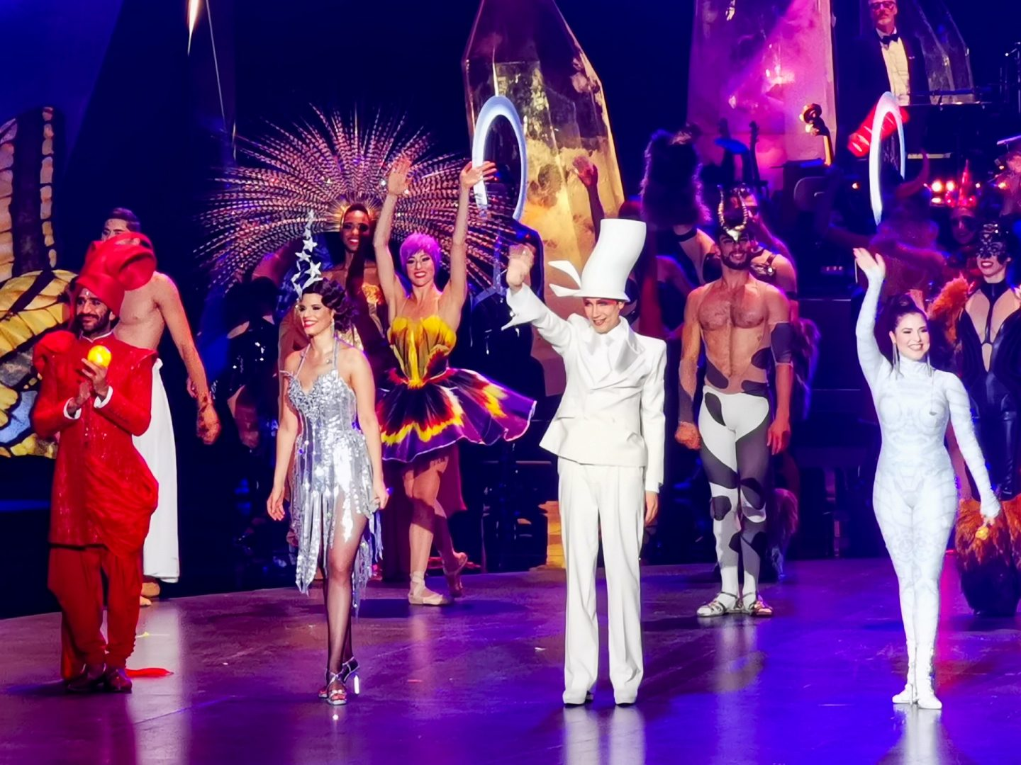 Vivid Grand Show things to do in Berlin theatre break