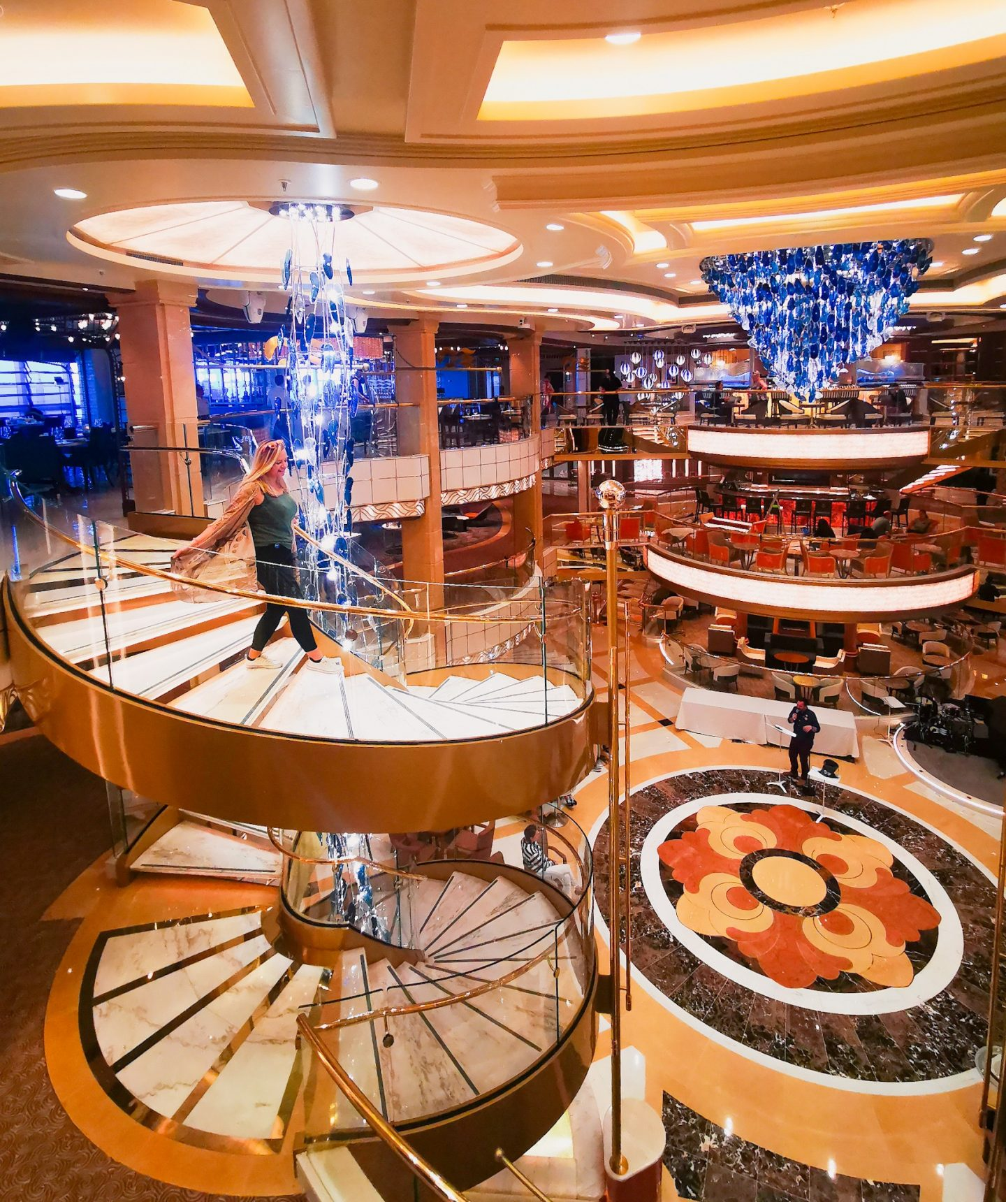 Sky Princess ship tour cruise review how to get around