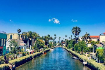 Venice Canals by Molly Fast 5 days in LA Los Angeles itinerary Tara Povey