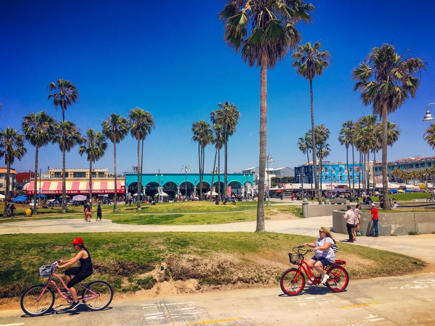 5 days in LA Los Angeles itinerary cycling Venice Beach