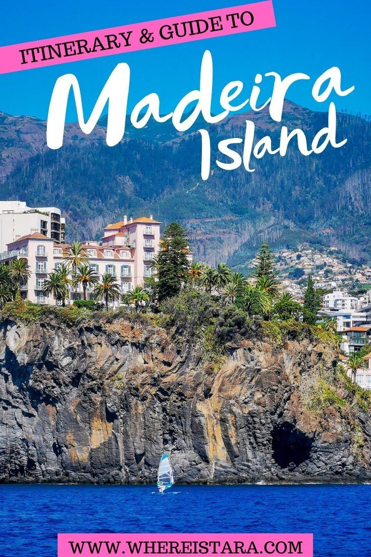 Madeira Itinerary 4 day Madeira itinerary pin