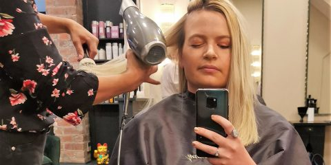 David Marshall Salon box dye to salon blonde hair