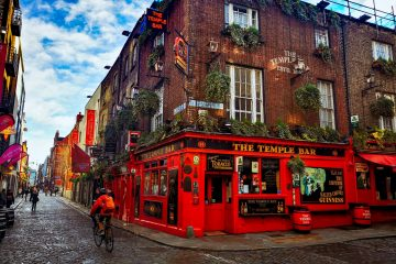 Dublin Temple Bar pub