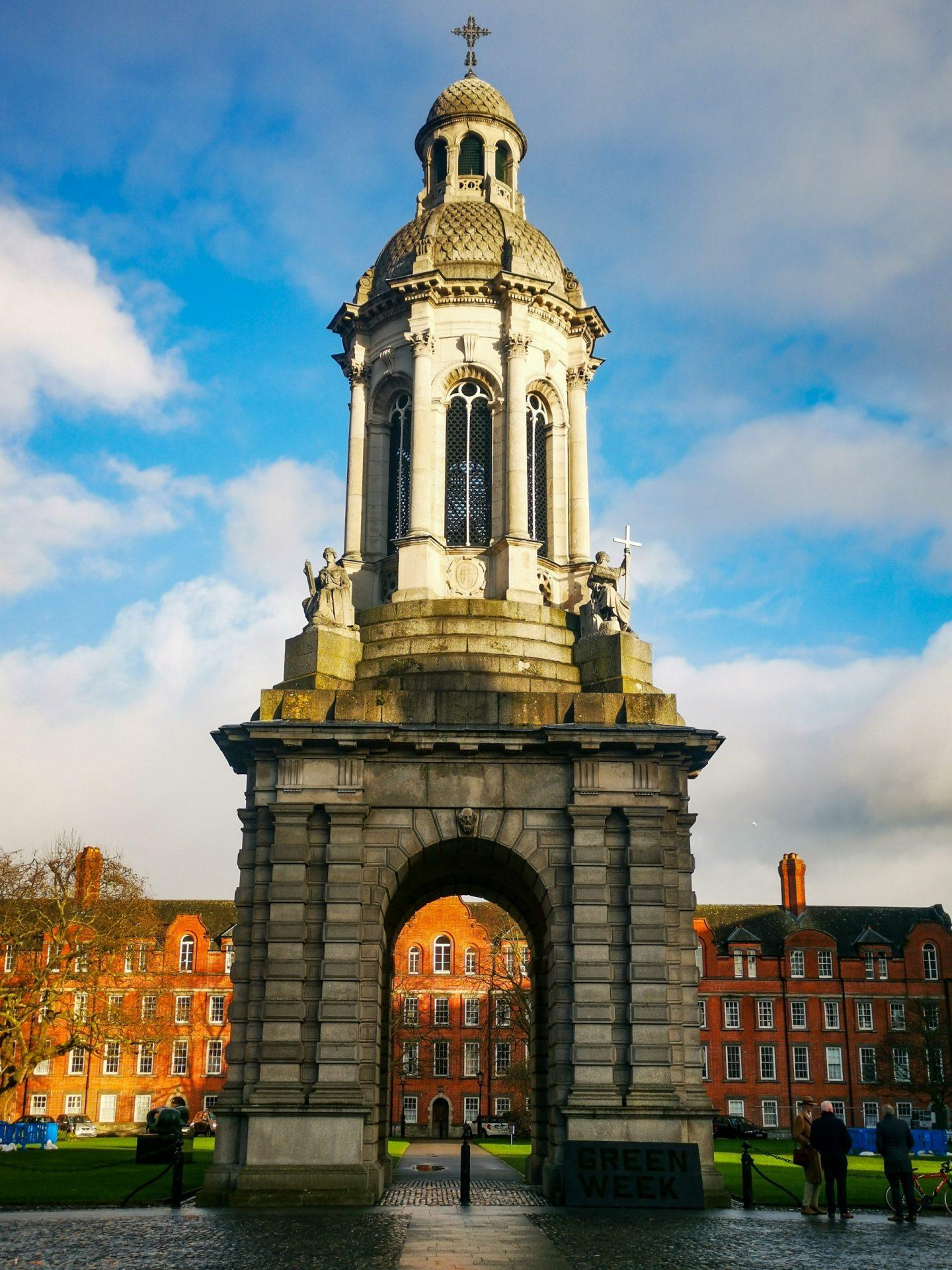 Dublin Trinity College Campanile