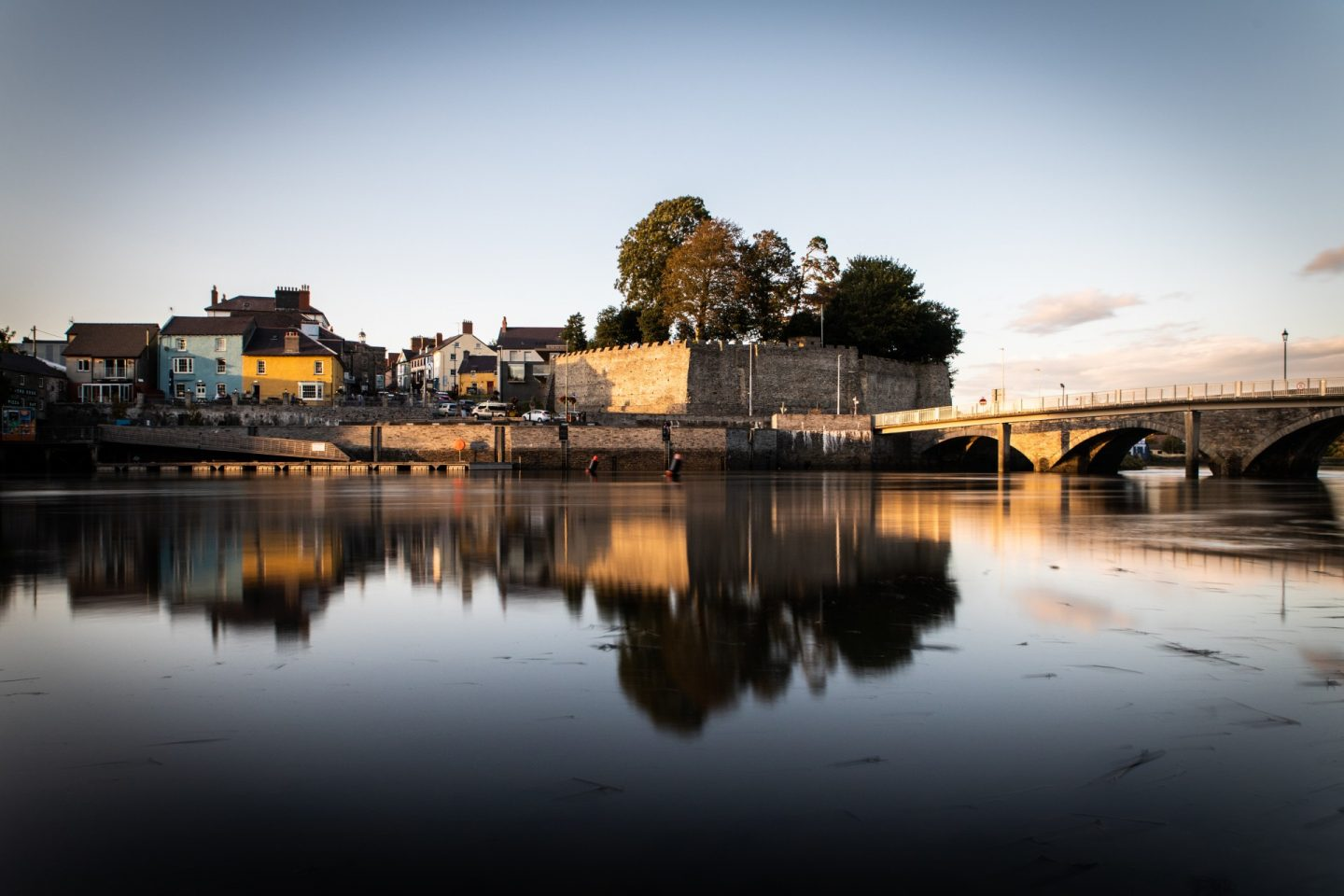 Cardigan Castle, Ceredigion in Wales on the Celtic Routes
