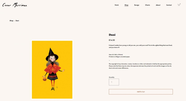 Conor Merriman Website art print