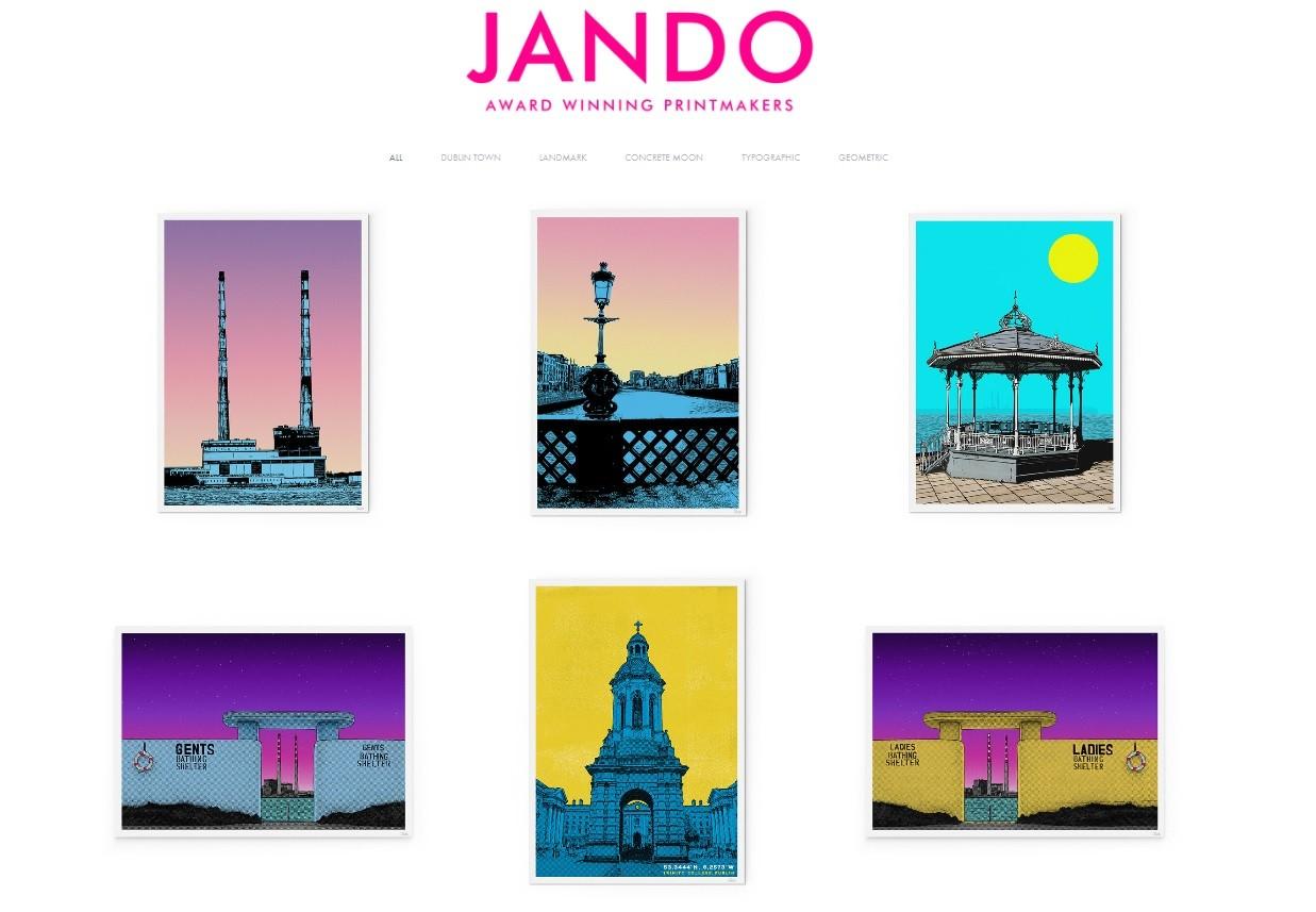 Jando Designs home page